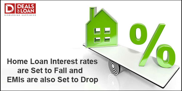 Home loan Interest rates are set to fall and EMIs are also set to drop